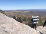 On the trail to Thomas Knob