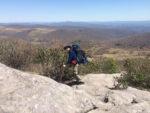 Along the trail to Thomas Knob