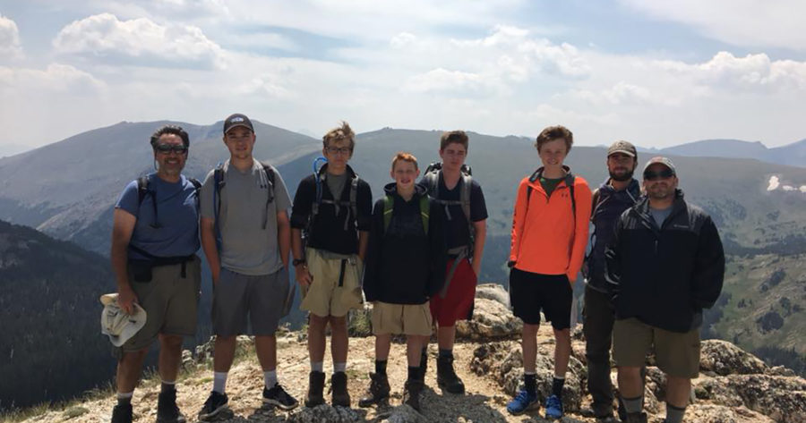 Scouts on a Mountain Top 2018